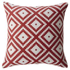 Mercury Row Zig Square Feather Filled Throw Pillow