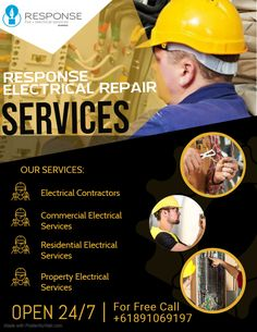 At Response Electrician Perth, the prime goal of the company is to deliver high quality and professional electrical services at budget-friendly prices.