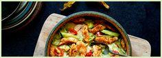 Grillet salat med kalkun og mozzarella