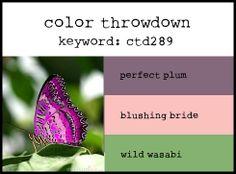 Color Throwdown: Color Throwdown #289