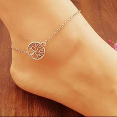Tree of Life Anklet Tree of Life Anklet Jewelry Bracelets