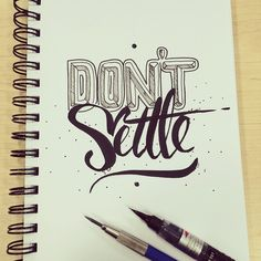 Don't Settle for the norm happy Tuesday - 132//365 #type #type365 #typeday #typelove #typespire #typechallenge #brushpens #brush #letter #lettering #handletter #handmadefont #handmadetype #thedailytype #goodtype #creative #design #inspire #quote #bestoftheday #picoftheday #workhard #motivation #tuesday #happy #thankyou #mnliable #enjoy