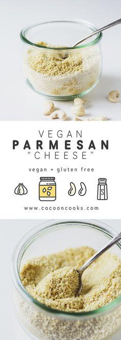 "100% vegan & delicious Cashew-based Parmesan ""Cheese""! #recipe #vegan…"