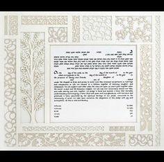 Melanie Dankowicz: Judaic design, papercut ketubot, dreidels