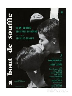 Breathless, 1960 (A Bout De Souffle) Stampa giclée su AllPosters.it