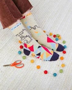 You Crafty Bitch Socks Crew Socks, Funny Socks, Fun Hobbies, Funny Art, Crafty, Fit Women, Sassy, Attitude, Scrap