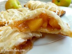 Gluten & Dairy Free Apple Hand Pies made with Pillsbury's Gluten Free Pie and Pastry Dough