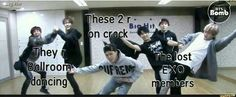 The lost EXO members killed me...