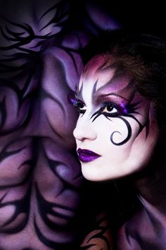Face Art on Pinterest | Face Paintings, Fantasy Makeup and ...