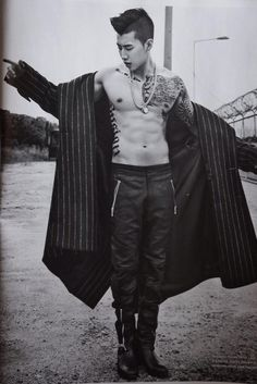 Jay Park for L'uomo Vogue Italy August 2014 Jay Park_ [follow Jay Park on Instagram @jparkitrighthere]