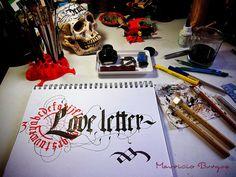 Paisajes caligráficos 2 #mbcaligrafia #tool #calligraphy #mexico
