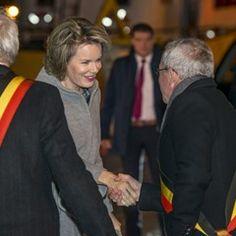 Belgian Royals visit Zeebrugge Fish Auction Market