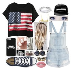 OH MY GOD by little-fangirling on Polyvore featuring polyvore fashion style Chicnova Fashion Converse West Coast Jewelry Belk & Co. Marc Jacobs Lime Crime clothing