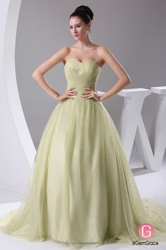 Only $219.9, Wedding Dresses Sage Green Sweetheart Ballgown Tulle Colored Wedding Dress #OPH1048 at #GemGrace. View more special Wedding Dresses,Colored Wedding Dresses,Ball Gown Wedding Dresses now? GemGrace is a solution for those who want to buy delicate gowns with affordable prices, a solution for those who have unique ideas about their gowns. 2018 new arrivals, shop now to get $20 off!