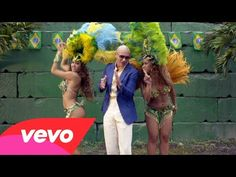 pitbull ft jennifer lopez-We Are One (Ole Ola) [The Official 2014 FIFA World Cup Song]