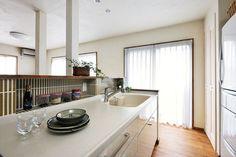 No.0282 かまぼこ型テーブルを囲む快適空間(一戸建て) | リフォーム・マンションリフォームならLOHAS studio(ロハススタジオ)…