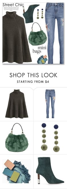 """""""Casual Chic Mini Bag and Turtleneck Chunky Sweater"""" by jecakns ❤ liked on Polyvore featuring KG Kurt Geiger"""