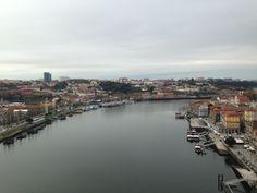 Oporto visto desde el Puente Luis I