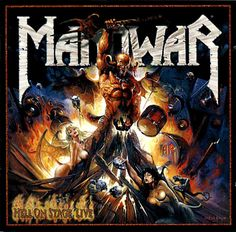 All official and unofficial Manowar Album Artwork Poster Manowar Band, Hard Rock, Heavy Metal Art, Rock Cover, Hell On Wheels, Band Wallpapers, Pochette Album, Extreme Metal, Metal Albums