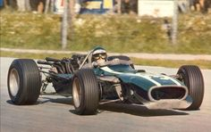 1967 Jochen Rindt, Cooper Car Co. Team, Cooper T81 Maserati