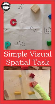 simple visual spatial tasks