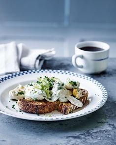 A good egg mayo is something not to be overlooked. Try Dan Doherty's recipe piled on toast – with crushed salt and vinegar crisps on top – as a quick treat for lunch or dinner. Tart Recipes, Veg Recipes, Real Food Recipes, Snack Recipes, Yummy Food, Picnic Recipes, Snacks, Recipies, Vegetarian Brunch Recipes