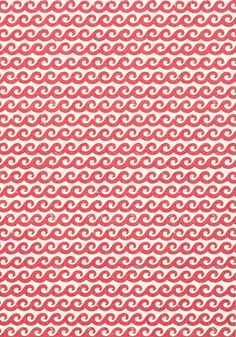 Shore Thing #wallpaper in #pink from the Resort collection. #Thibaut