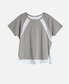 Camiseta detalles rejilla - Última Semana - Tendencias AW 2016 en moda de mujer…