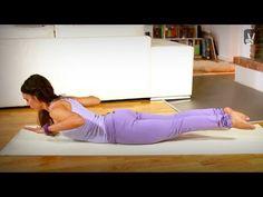 Pilates für Anfänger: Übungen für Rücken und Wirbelsäule - YouTube