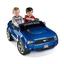 Power Wheels Boss Mustang Ride On  Blue