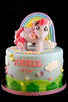 My Little Pony Cake by Royal Bakery-  Norah's 3rd Birthday is coming up this would be so cute!