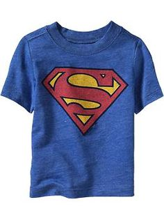 $12.94 - Size 2T - DC Comics™ Superhero Tees for Baby   Old Navy  - BECAUSE SUPERMAN WAS ADOPTED :)
