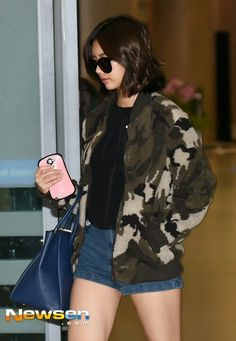 Girl's day Hyeri airport fashion  <3
