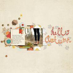Michelle Collins (Little Dreamer Designs) Hello Autumn Sara Gleason - DSD GB 2013