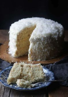 Try this all star Triple Layer Coconut Cake Recipe that is perfectly moist and delicious!