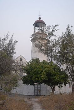 Bazaruto #Lighthouse - Located on the south- eastern Coast of Moçambique, #Africa #travel