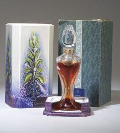 """Ode,"" a BACCARAT perfume bottle for Guerlain, circa 1955"