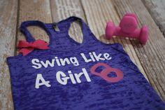 Womens Workout Tank Top. Burnout Gym Tank. by strongconfidentYOU