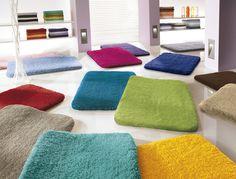 Badteppich Kleine Wolke Relax  viele Farben /Größen  Wahl Badeteppich