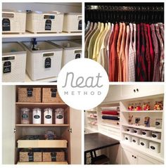 Neat Method's top neatest spaces of 2015. So much organization inspiration!
