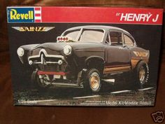 Revell  Henrry J box art