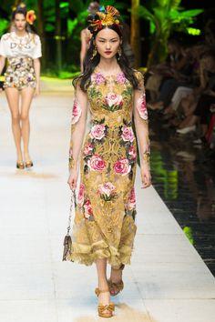 Défilé Dolce & Gabbana Printemps-été 2017 61