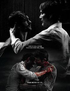 it's beautiful. Hannibal edit. Source: salazarsslytherin.tumblr