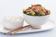 Kyllingwok Chop Suey