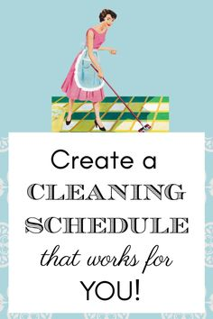 Create a Cleaning Schedule that Works for YOU! #cleaningschedule #cleaning #homemaking #schedule Weekly Cleaning, Deep Cleaning, Cleaning Hacks, How Jen Does It, Clean Refrigerator, Clean House Schedule, Cleaning Appliances, Tidy Up, How To Make Bed