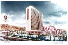 Early rendering of proposed Circus Circus tpower