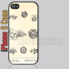 Unique Vintage Bats iPhone 5 Case Cover