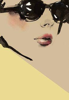 illustration by Aasha Ramdeen http://www.pinterest.com/swizzlestick44/classy-art/