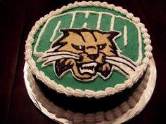© Sweetest Cakes - Ohio Bobcats Cake