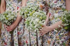 Edwardian Lace and Pretty Flowers in Her Hair ~ A Charming English Country Garden Wedding